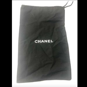 "Chanel Dust Bag Storage Cover Pouch Sz 12"".3 X 8"""